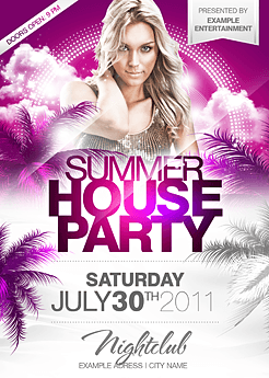 Party flyer best party flyer templates summer house party flyer saigontimesfo