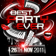 Best Party Ever Party Flyer Template