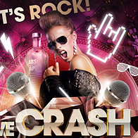 We Crash The Night Party Flyer